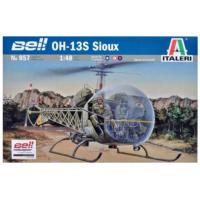 упаковка игры Вертолет BELL OH-13S SIOUX 1:48