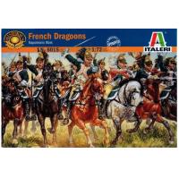 упаковка игры Французские драгуны 1:72