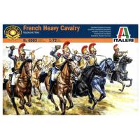 упаковка игры Французская тяжелая кавалерия 1:72