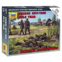 упаковка игры Немецкие бронебойщики 1:72