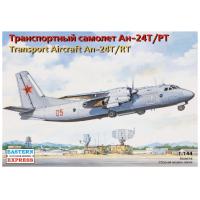 упаковка игры Транспортный самолет Ан-24Т/РТ 1:144