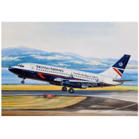 упаковка игры Авиалайнер Б-732 British Airways 1:144