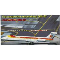 упаковка игры Авиалайнер MD-87 Iberia 1:144