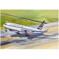 упаковка игры Авиалайнер Б-772 Аэрофлот 1:144