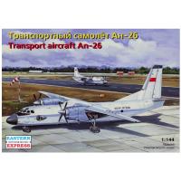 упаковка игры Транспортный самолет Ан-26 Аэрофлот 1:144