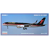 упаковка игры Авиалайнер Б-752 TRUMP 1:144
