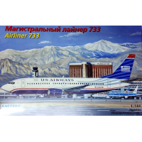упаковка игры Авиалайнер 737-300 US airways 1:144