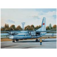 упаковка игры Самолет Ан-24Б Аэрофлот/LOT 1:144