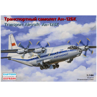 упаковка игры Транспортный самолет Ан-12БК Аэрофлот 1:144
