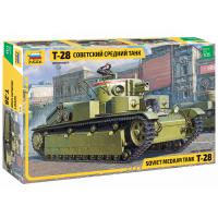 упаковка игры Советский средний танк Т-28 1:35
