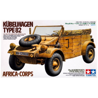 упаковка игры Кубельваген Type 82 Africa-Corps 1:35