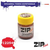упаковка игры ZIPmaket 12254 Проливка темно-коричневая
