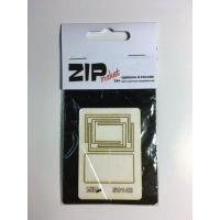 упаковка игры ZIPmaket 50142 Прямоугольный стол для кафе (масштаб 1/35)