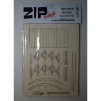 упаковка игры ZIPmaket 50120 Арочный мостик (масштаб 1/35)