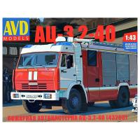 упаковка игры Пожарная автоцистерна АЦ-3,2-40 (43253) 1:43