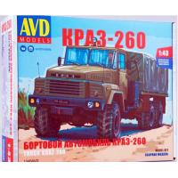 упаковка игры Бортовой грузовик КРАЗ-260 1:43