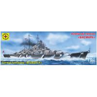 упаковка игры Корабль линкор Бисмарк 1:800