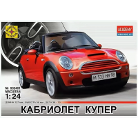упаковка игры Кабриолет MINI Cooper 1:24