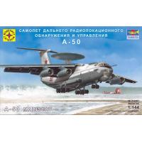 упаковка игры Самолет дальнего радиолокационного обнаружения и управления А-50 1:144