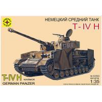 упаковка игры Танк T-IV H 1:35