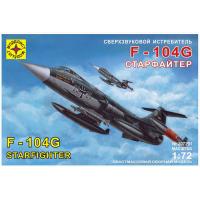 упаковка игры Истребитель F-104G Старфайтер 1:72