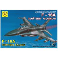 упаковка игры Самолет F-16A Файтинг Фолкон 1:72