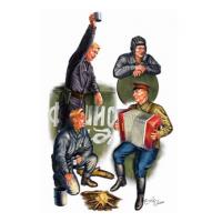 упаковка игры Советские танкисты на отдыхе 1:35