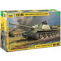упаковка игры Советский истребитель танков СУ-85 1:35
