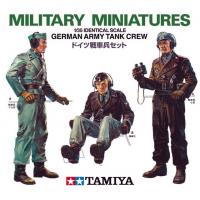 упаковка игры Немецкие танкисты. 3 фигуры 1:35