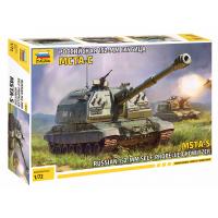 упаковка игры Российская 152-мм гаубица МСТА-С 1:72