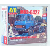 упаковка игры Седельный тягач МАЗ-6422 (ранний) 1:43