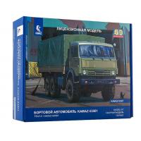 упаковка игры Бортовой KAMAZ-53501 1:43