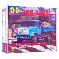 упаковка игры Бортовой грузовик ЗИЛ-4333 1:43
