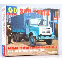 упаковка игры Большегрузный автомобиль ЗиЛ-133Г4 1:43
