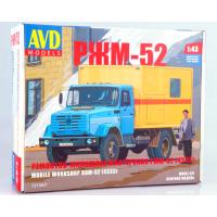 упаковка игры Ремонтно-жилищная мастерская РЖМ-52 (4333) 1:43