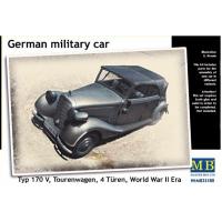 упаковка игры Германский военный автомобиль, Typ 170 V, Tourenwagen 1:35