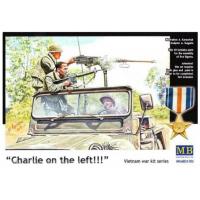 упаковка игры Фигуры Чарли слева!!! Война во Вьетнаме 1:35