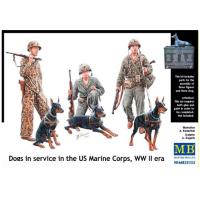 упаковка игры Фигуры Собаки на службе в корпусе морской пехоты США 1:35