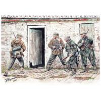 упаковка игры Фигуры Немецкая пехота в Западной Европе. 1944-1945гг 1:35