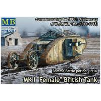 упаковка игры Британский танк MK I