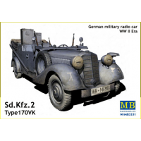 упаковка игры Sd. Kfz. 1 Type 170 VK, Германский военный автомобиль 1:35