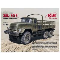 упаковка игры ЗиЛ-131 Советский армейский грузовой автомобиль 1:35