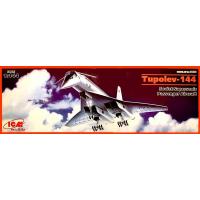 упаковка игры Ту-144, Советский сверхзвуковой пассажирский самолет 1:144