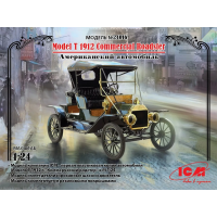 упаковка игры Model T 1912 Commercial Roadster, Американский автомобиль 1:24