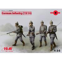 упаковка игры Германская пехота (1914 г.), (4 фигуры) 1:35