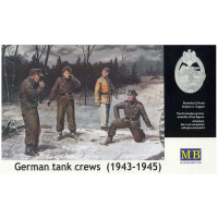 упаковка игры Немецкая танковая команда (1943-1945) набор No 1 1:35