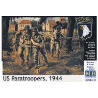 упаковка игры Фигуры Американские парашютисты 1944 г. 1:35