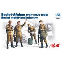 упаковка игры Советские мотострелки, 1979-1988, фигуры 1:35