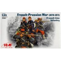 упаковка игры Французская линейная пехота 1:35
