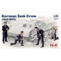 упаковка игры Фигуры, Немецкий танковый экипаж 1943-1945 1:35